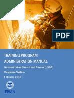 508 Urban Search Rescue Training Program Admin Manual Feb2013