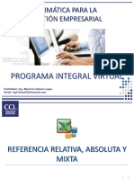 Referencias Relativas Absolutas y Mixtas