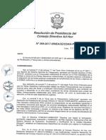 Resolución N°369-2017-SINEACE-CDAH-P
