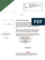 Mexican Police Certificate Translation (Baja California) / Traducción de Constancia de No Antecedentes Penales (docx)