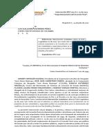 INTERVENCIÓN | Intervención AL 002-2017 Seguridad Jurídica del Acuerdo de Paz.
