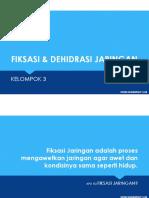 PPT Sitohisto (Fiksasi dan Dehidrasi Jaringan)
