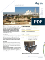 ABG Capilliary Break Salt Barrier Sheikh Zayed Grand Mosque Abu Dhabi CASE STUDY