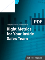 The Right Metrics for Your Inside Sales Team v8