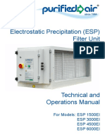 Electrostatic Precipitation (ESP) Filter Unit