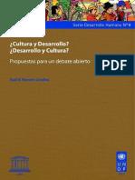 Cultura y desarrolllo ( UNESCO ).pdf