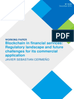 Blockchain in Financial Services - Regulatory Landscape and Future Challenges for Its Commercial Application