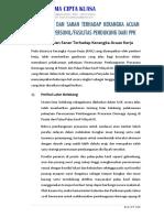 Data Teknis 4 - Tanggapan & Saran Thdp Kak
