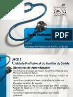 UFCD 2 Atividade Profissional Do Auxiliar de Saúde