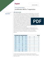 Decodificador BCD a 7 Segmentos - Electronica Digital Circuitos