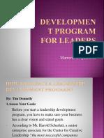 Development Program for Leaders_ppt