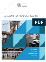 RFEI for Amazon HQ2