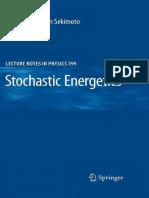 [Sekimoto] Stochastic Energetics