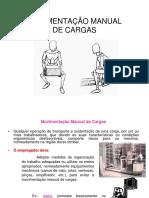 Movimentação Manual de Cargas