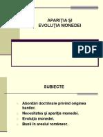 Aparitia Si Evolutia Monedei.unfinished
