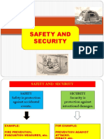 Safety and Security on Board ships