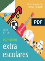 Extraescolares 17-18