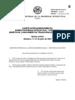 Patentes de La Maca