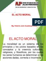 El Acto Moral