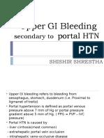 Upper GI Bleeding