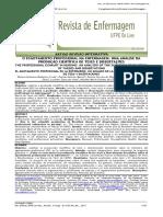 3.2 Artigo - o Esgotamento Profissional Na Enfermagem Uma Análise Da Produção Científica de Teses e Dissertações
