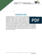 Instalaciones  Sanitarias (informe salida de campo)