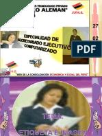 Etiqueta e Imagen Secretarial