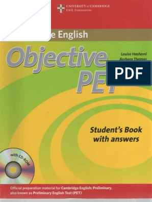 objective pet students book pdf free download