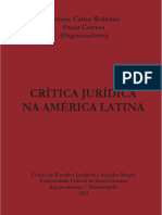 Critica Juridica Na America Latina