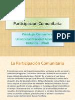 Unidad 1 Participacion Comunitaria