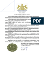 Governor Wolf Proclamation -- Hydrocephalus Awareness Month 2017