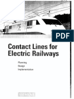 SIEMENS - Contact Lines for Electric Railways