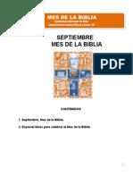 Mes de La Biblia 2012