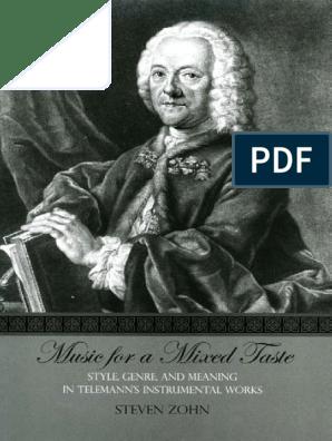 Meaning in Telemann's Instrumental Works | Concerto | Johann