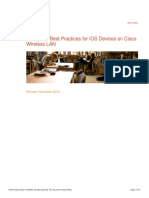 Enterprise Best Practices for Apple Devices on Cisco Wireless LAN