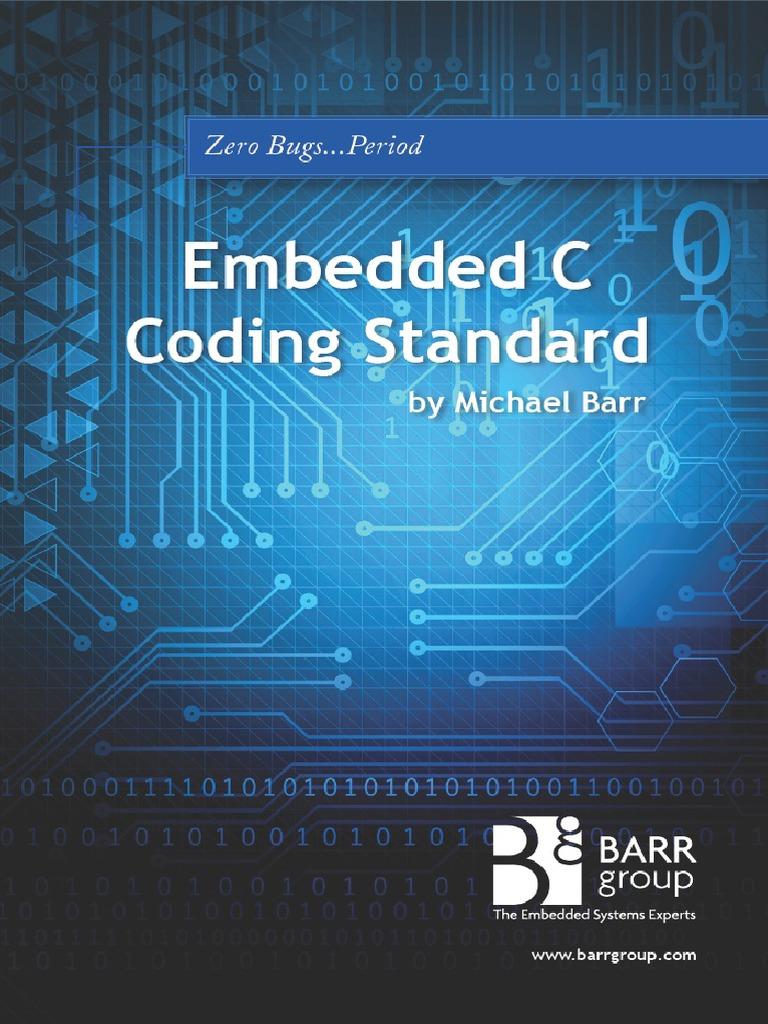 Embedded C Coding Standard By Michael Barr Pdf