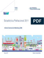 IGM Estadistica Poblacional 2011 (1)