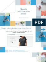 google merchandise store - shopper analysis