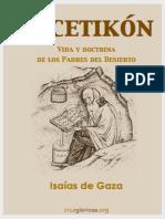 Isaias de Gaza_Ascetikon