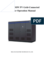 1MW and 1.25MWPV Grid-ConnectedInverter Operation Manual