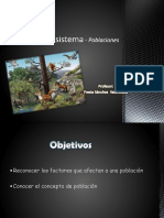 Ecosistema - Poblaciones