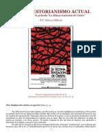 El Neo Nestorianismo Actual(R.P.alvaro Calderon)