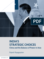 India's Strategic Choices