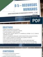 Módulo 5 – Recursos Humanos