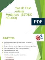 Diagramas de Fase en Materiales Metálicos