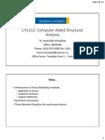 CVL312 Lecture 3