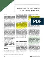 Vincenzo Padiglione - Diversidad y Pluralidad en El Escenario Deportivo