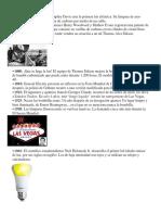 Historia de La Bombilla