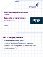 DAA Lecture DynProg