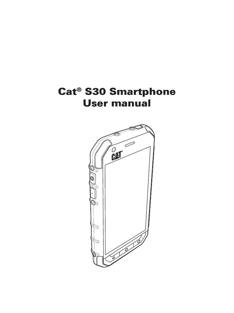 Caterpillar S30 Pdf Manual Email Bluetooth